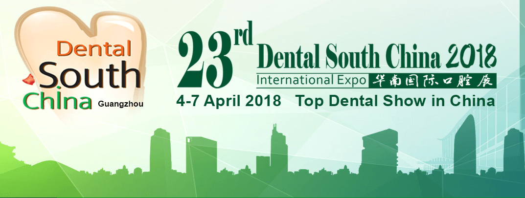 Looking forward to meeting you at Dental South China Expo 2018